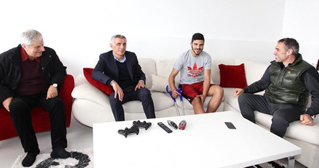 Trabzonspor'da Aytaç Kara'ya ziyaret