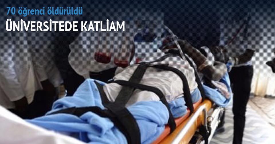 Kenya'da üniversiteye saldırı: 70 ölü