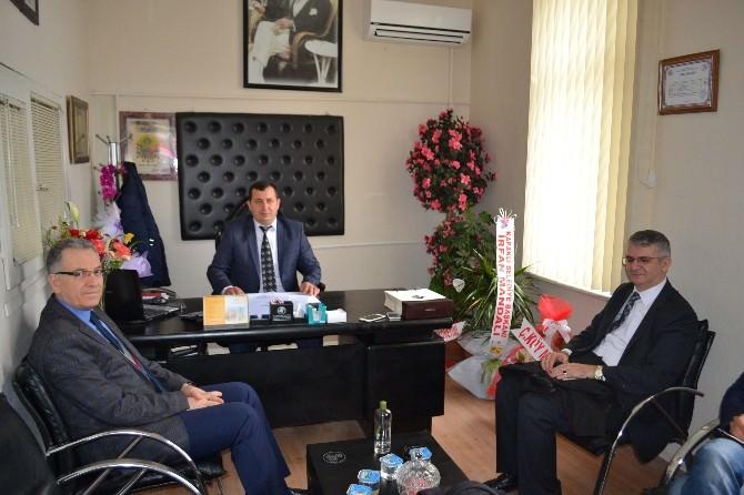 Çerkezköy Taşıyıcılar Kooperatifi Başkanı Arat'a Hayırlı Olsun Ziyaretleri Sürüyor