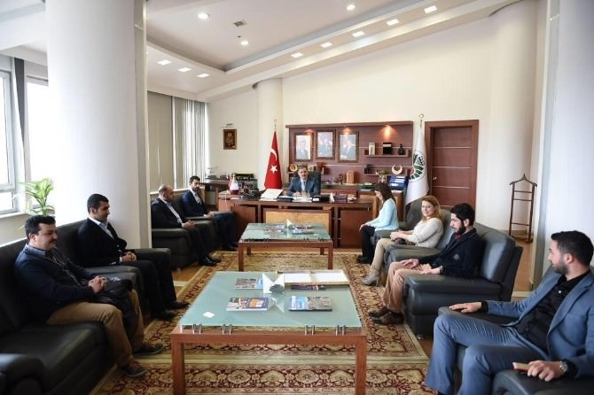 Battalgazi Gençlik Kolları'ndan Çakır'a Ziyaret