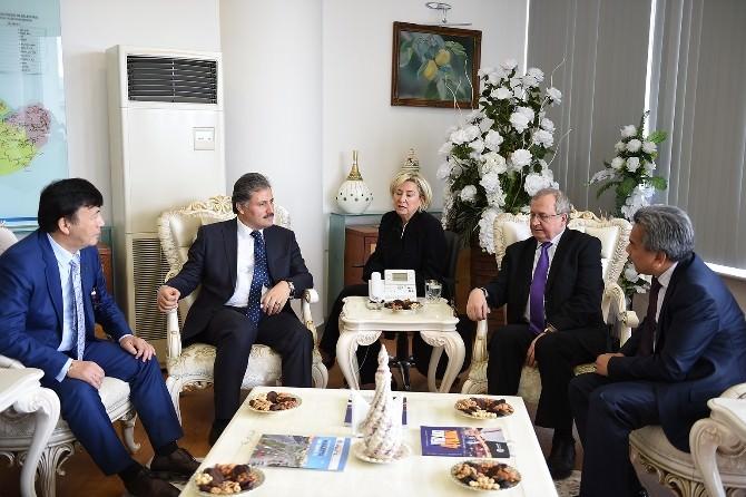 Büyükelçiler Malatya'yı Çok Sevdi