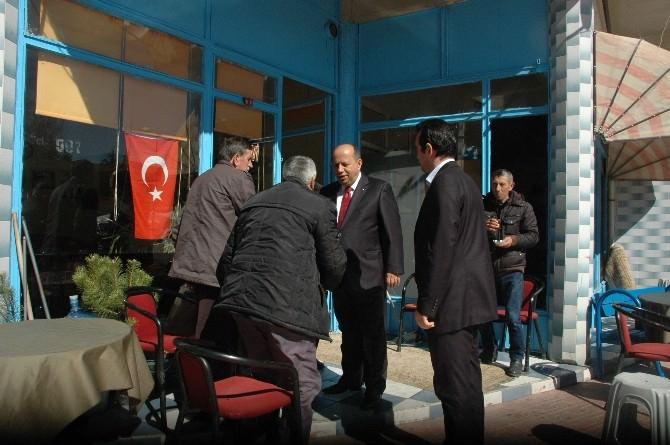 Prof.dr. Haydar Aras, İnönü Savaşları Karargah Müzesi'nde