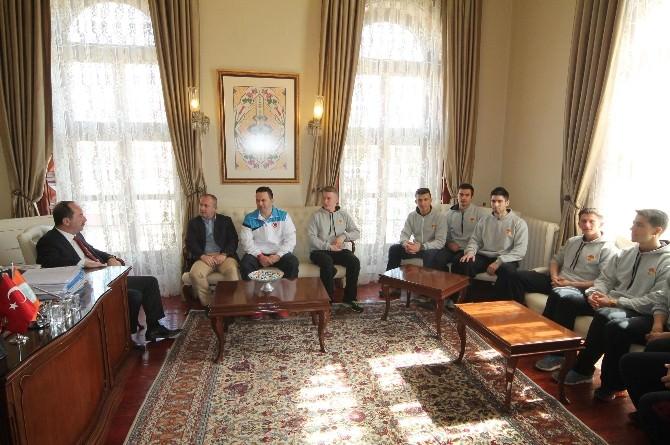 Edirne Belediyesi Fitness Spor Kulübü'nden Başkan Gürkan'a Ziyaret