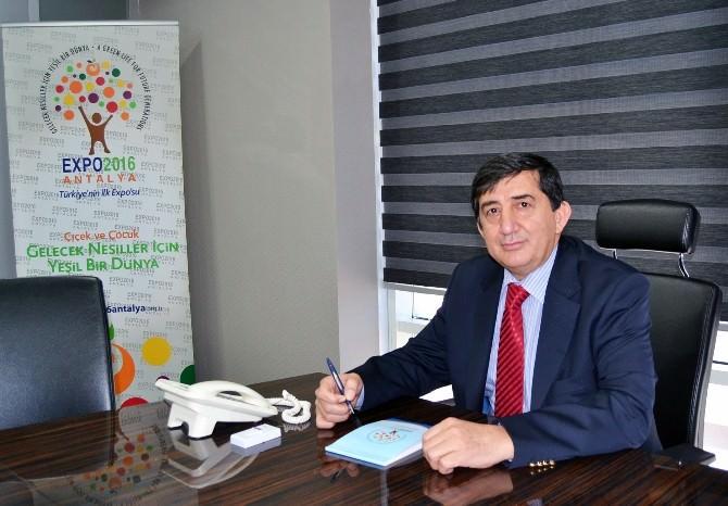 EXPO 2016 Antalya Genel Komiseri Atandı