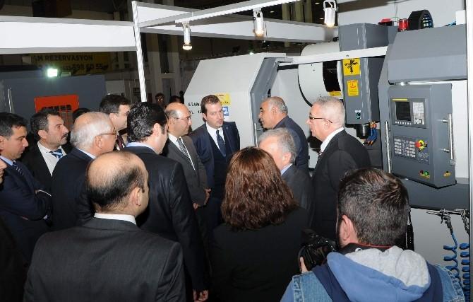 Gaziantep Makine Ve Otomasyon Fuarı Açıldı
