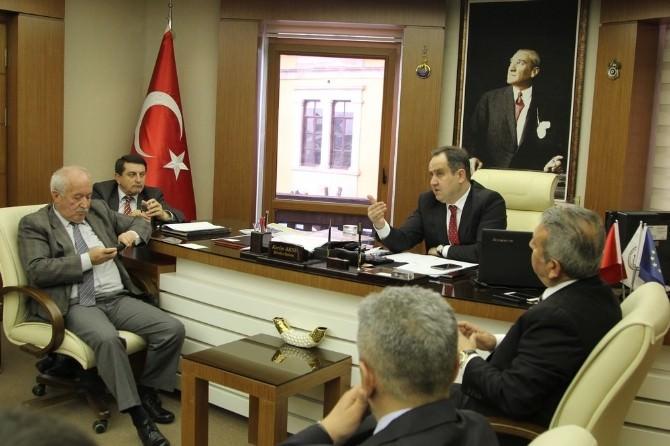 Kerim Aksu Belediye Birim Amirleri İle Bir Araya Geldi