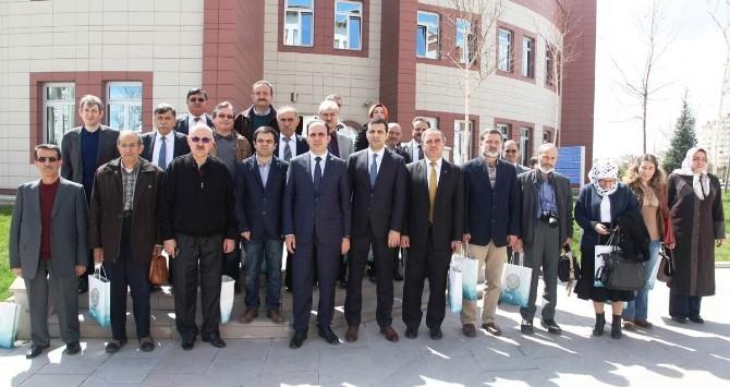 TYB Konya Şubesi'nden Başkan Altay'a Ziyaret