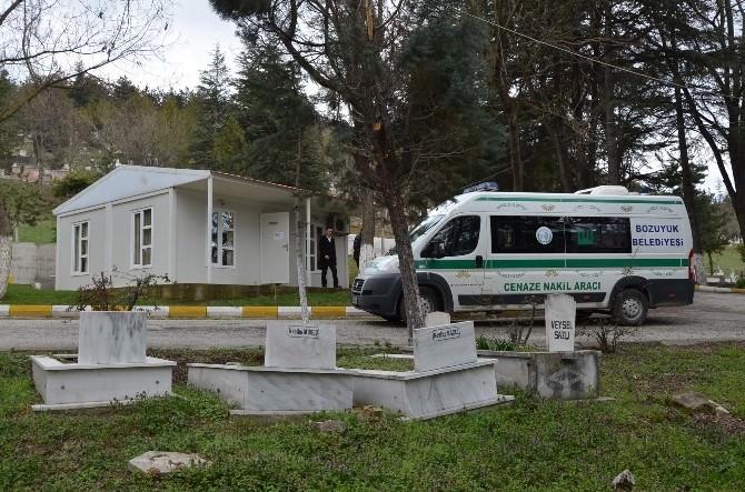 Bozüyük Belediyesi Mezarlıklar Müdürlüğü Yeni Yerinde