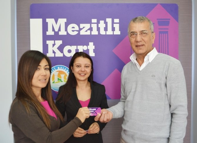 Mezitli Belediyesi'nin 'Mezitli Kart' Projesi Hayata Geçti