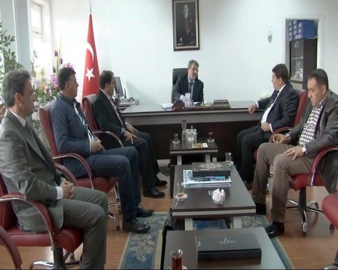 MÜSİAD'tan, İŞKUR Müdürü Toman'a Ziyaret