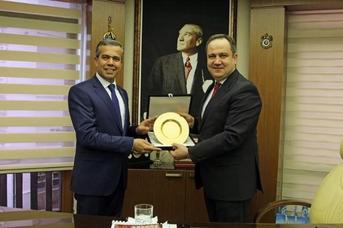 Polatlı Belediye Başkanı Mürsel Kızılkaya' Dan Giresun Belediyesine Ziyaret