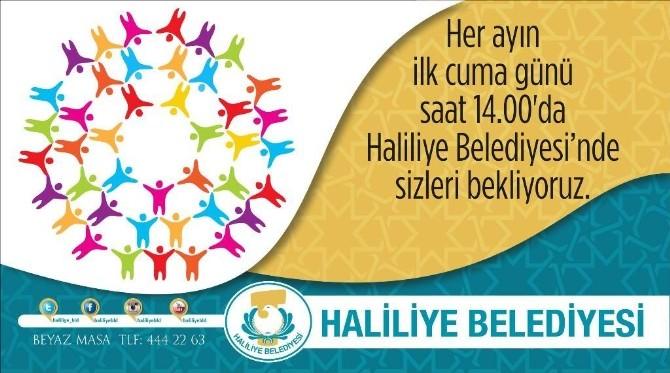 Haliliye'de Halk Günü Uygulaması Devam Ediyor