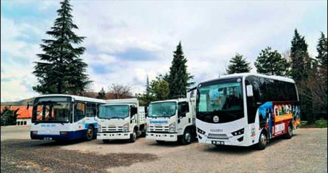 Beypazarı'na dört yeni araç daha