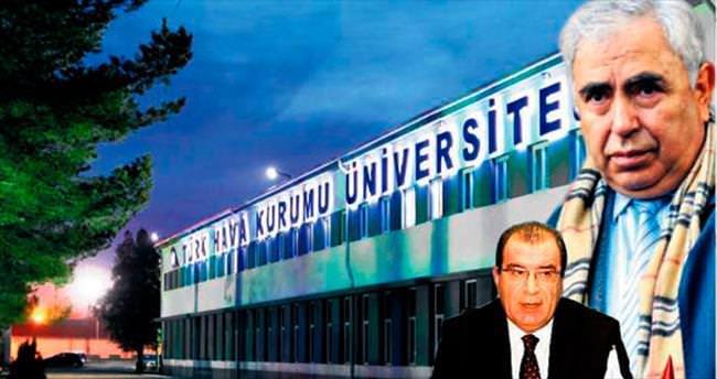 Osman Yıldırım'ın heyeti üniversite bastı