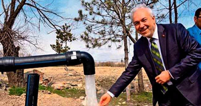 Başkan suyu getirdi sıra yatırımcıya geldi