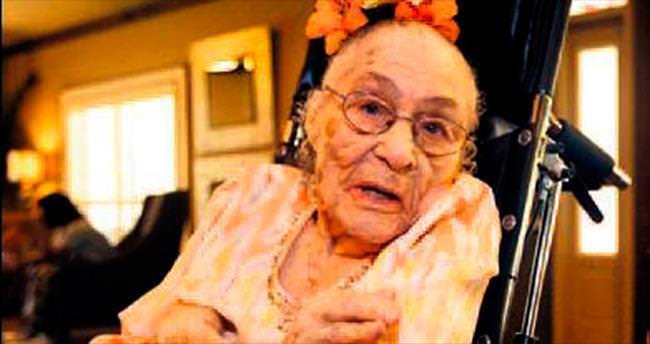 Dünyanın en yaşlısı ABD'li Gertrude oldu