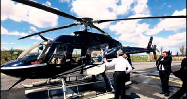 Samandıra'dan Beylikdüzü'ne helikopterle