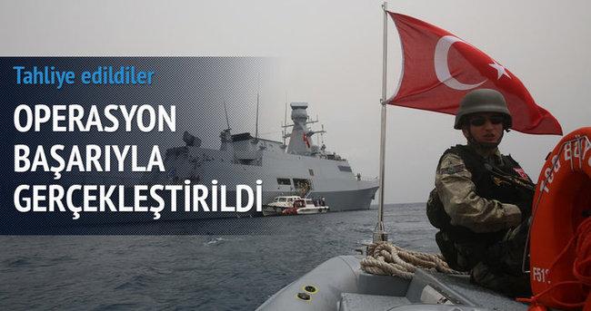 Türk vatandaşları Aden'den tahliye edildi