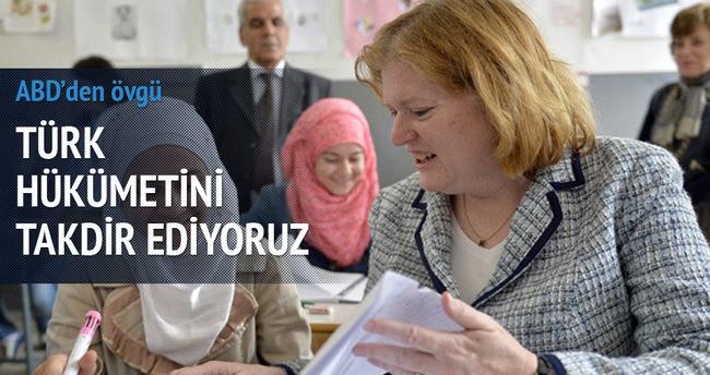 ABD: Türk hükümetini takdir ediyoruz