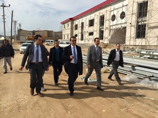 Hükümetin Mardin'deki Yatırımları İncelendi
