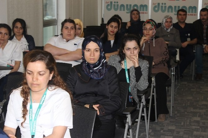 Dünyam Hastanesi Çalışanlarına Kanser Eğitimi