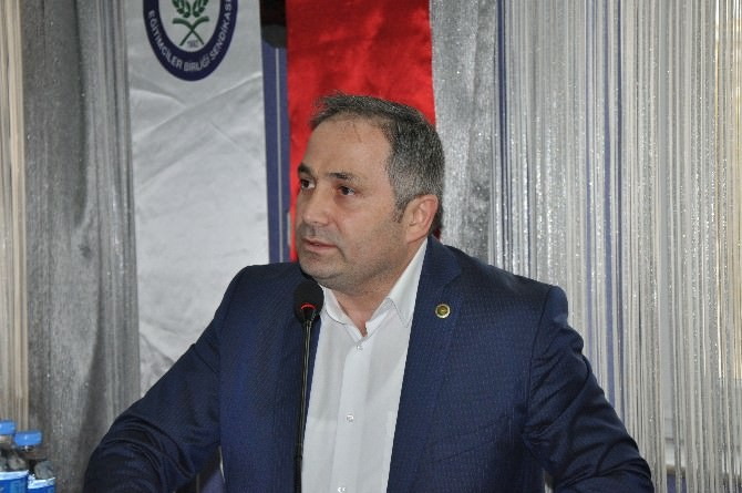 Eğitim Bir-sen Genel Başkan Yardımcısı Hasan Yalçın Yayla: