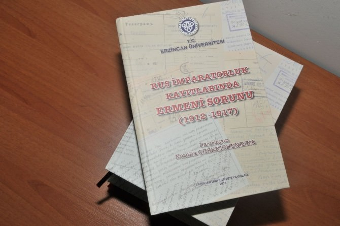 Ermeni Sorununun 100. Yıl Dönümünde Erzincan Üniversitesinden Kitap Yayını
