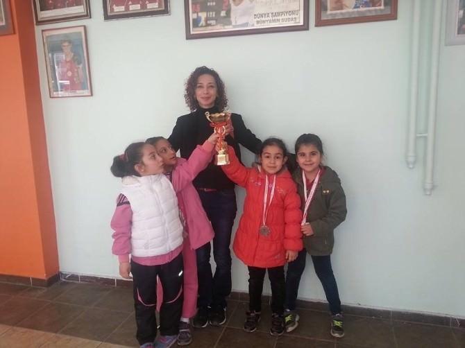Erzincan'da Minik Sporcuların Cimnastik Gösterileri Büyüledi
