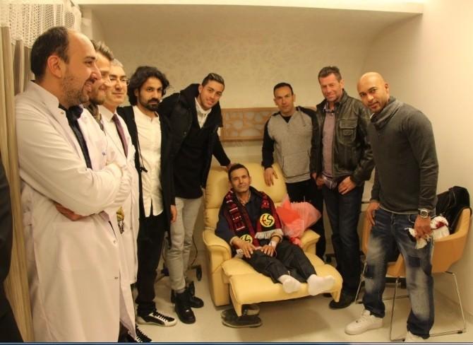 Eskişehirspor Kanser Hastalarını Unutmadı