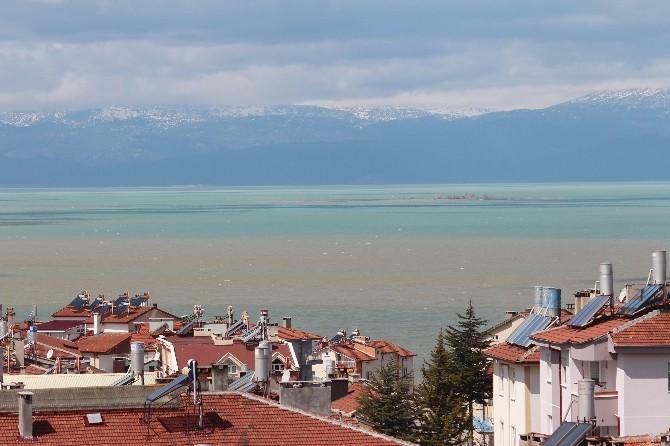 Beyşehir Gölü'nün Rengi Değişti