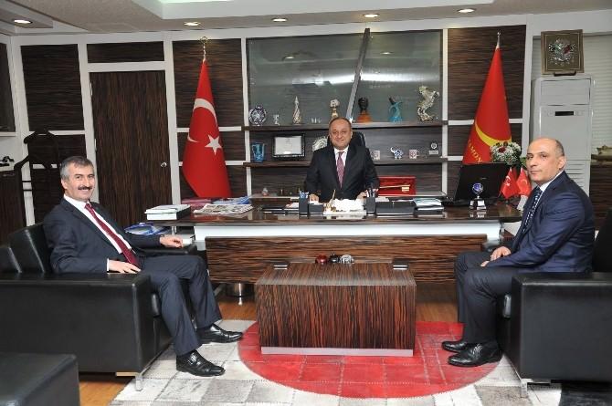 KOSGEB Başkanı Biçer, Başkan Babaş'ı Ziyaret Etti