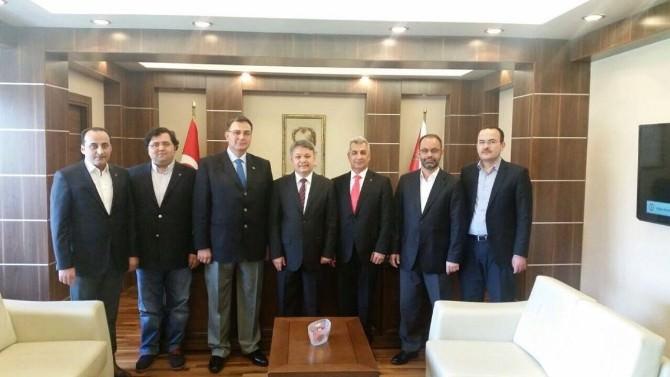 MÜSİAD Yeni Yönetim Kurulu'ndan İl Emniyet Müdürü Şahin'e Ziyaret