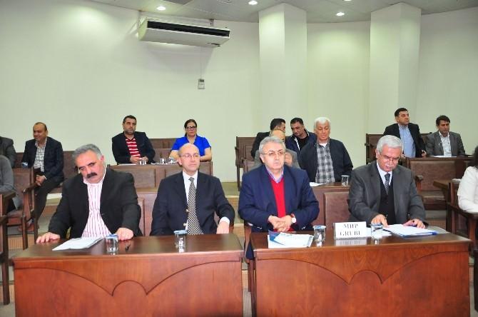 Nazilli Belediye Meclisi'nin Nisan Ayı İlk Toplantısı Yapıldı