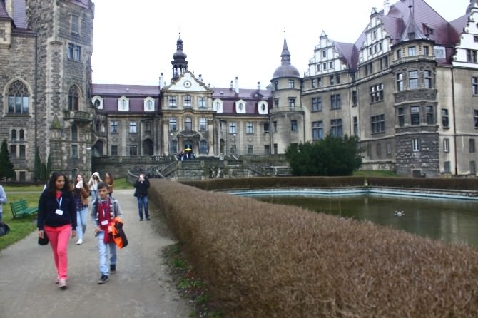 Oymaağaç Ortaokulu Polonya'da