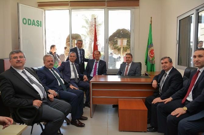 Yunusemre Belediyesi Ziraat Odası'na Yer Tahsisi Yaptı
