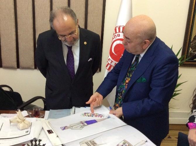 Ünlü Modacıdan AK Partili Uslu'ya Ziyaret