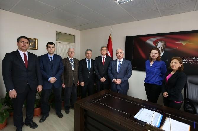Vali Tuna, Sağlık Ve Halk Sağlığı Müdürlüklerini Ziyaret Etti