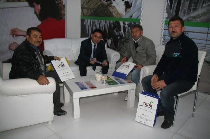 Yozgat TKDK Fuarda Çiftçileri Bilgilendiriyor