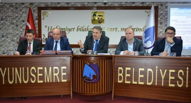 Yunusemre Meclisinde Kararlar Oybirliğiyle Alındı