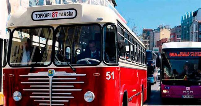 Nostalji otobüsleri yollarda