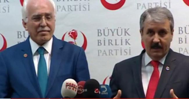 İki parti ittifakında flaş açıklama