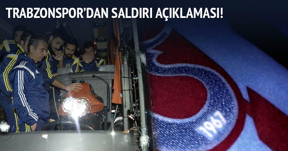 Trabzonspor'dan Fenerbahçe saldırısına ilişkin açıklama