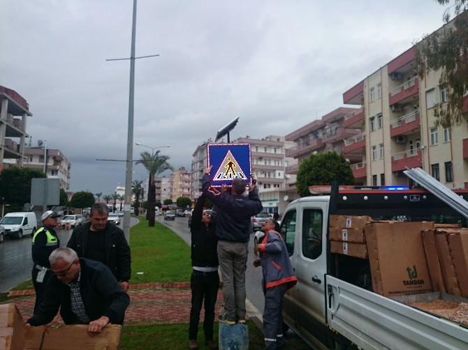 Büyükşehir'den Manavgat Trafiğine Düzenleme