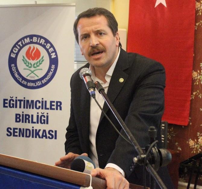 Eğitim-bir Sen Genel Başkanı Ali Yalçın: