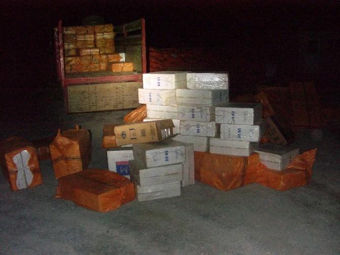 Hakkari'de 84 Bin 500 Paket Sigara Ele Geçirildi