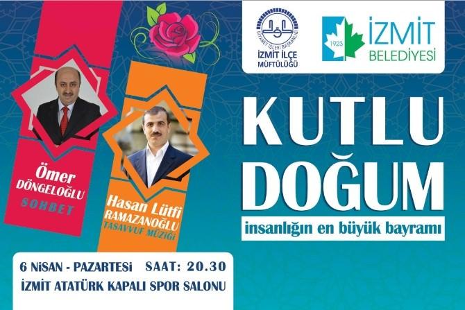 Kutlu Doğum Etkinliği Atatürk Spor Salonu'nda
