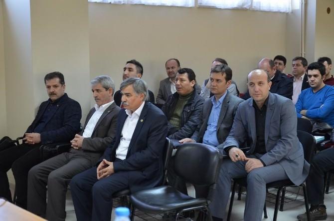 Eğitim Bir-sen Genel Başkan Vekili Latif Selvi: