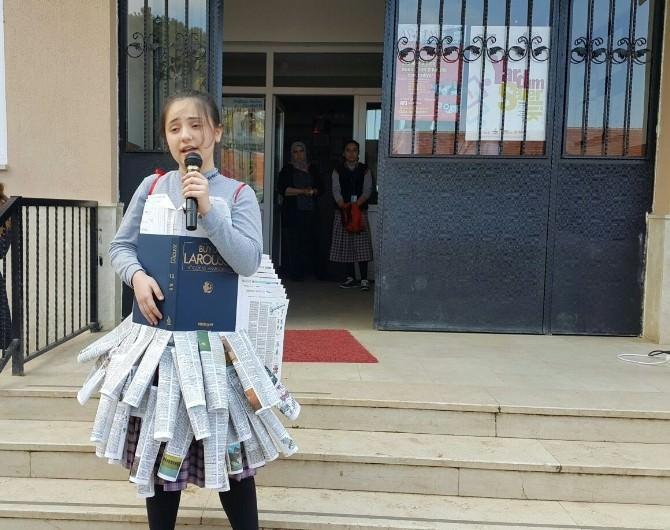 Salihli Sart Mahmut Ortaokulu Kütüphane İstiyor