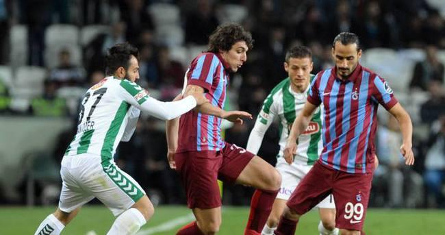 Trabzonspor tek golle yıkıldı — Konyaspor Trabzonspor maçı özeti ve golleri