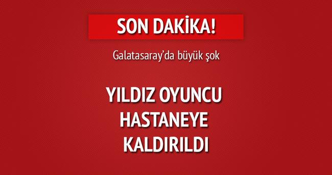 Galatasaraylı yıldız zehirlendi